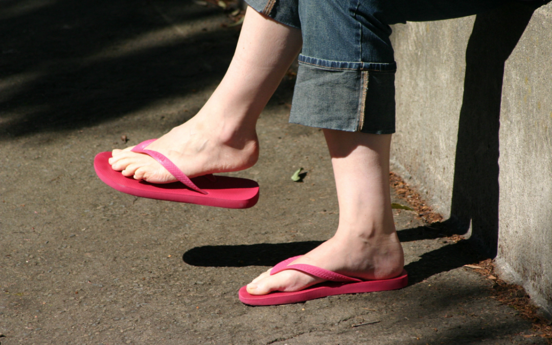 Summer's the Time For Flip Flop Feet
